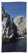Granite Outcrop Cabo San Lucas Mexico Beach Towel