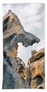 Granite Texture Beach Towel