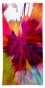 Grape Vine Burst Beach Towel