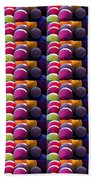 Grapes Fruit Pattern Health Background Designs  And Color Tones N Color Shades Available For Downloa Beach Towel