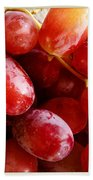 Grapes Beach Towel by Les Cunliffe