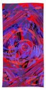Graphic Explosion Beach Towel