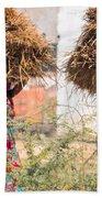 Grass Cuttings Beach Towel
