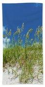 Grass On The Beach, Bill Baggs Cape Beach Towel