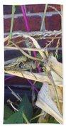 Grasshopper Piggyback Beach Towel