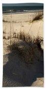 Grassy Dunes Beach Towel by Adam Jewell