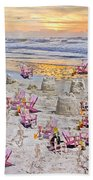 Grateful Holiday Beach Towel