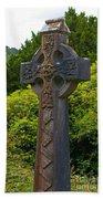 Grave Cross 4 Beach Towel