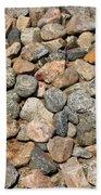 Gravel Stones Beach Towel