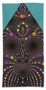 Gravity And Magnetism Beach Towel