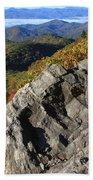 Great Balsam Mountains - Blue Ridge Parkway Beach Towel