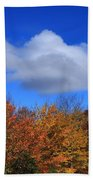 Great Balsam Mountains In The Fall Beach Towel