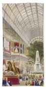 Great Exhibition, 1851 South Transept Beach Towel