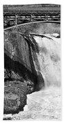 Great Falls In Paterson Nj Beach Towel