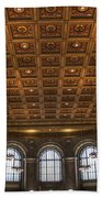 Great Hall St. Louis Central Library Beach Towel