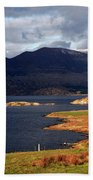 Lakes Of Ireland, Waterville, County Kerry Beach Towel