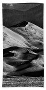 Great Sand Dune National Park At Sunrise Beach Towel