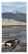 Great Sand Dunes Two Beach Towel
