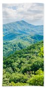 Great Smoky Mountains National Park Near Gatlinburg Tennessee. Beach Towel