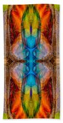 Great Spirit Abstract Pattern Artwork By Omaste Witkowski Beach Sheet