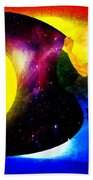 Great Sun Jester And The Night Sky Beach Towel