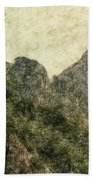 Great Wall 0043 - Colored Photo 2 Beach Towel