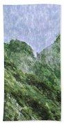 Great Wall 0043 -  Watercolor 2 Sl Beach Towel