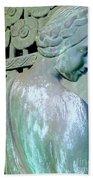 Grecian Goddess Beach Towel
