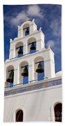 Greek Church Bells Beach Towel