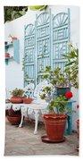 Greek Courtyard Beach Sheet