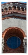 Greek Orthodox Church Arches Beach Towel