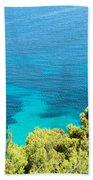 Greek Sea View Beach Towel