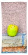 Green Apple Beach Towel
