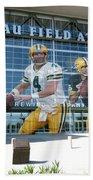 Green Bay Packers Lambeau Field Beach Towel