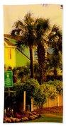 Green Beauty At Isle Of Palms Beach Towel