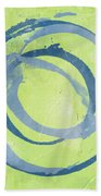 Green Blue Beach Towel