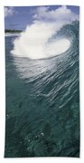 Green Curl Beach Towel