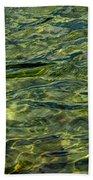 Green Diamonds Beach Towel