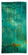 Green Door - Carmel By The Sea Beach Towel
