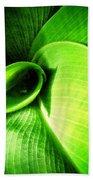 Green Paradise - Leaves By Sharon Cummings Beach Towel