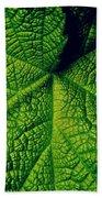 Green Ribbons Of Life Beach Towel