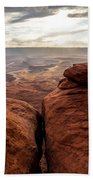 Green River View Beach Towel by Dustin  LeFevre