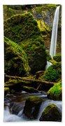 Green Seasons Beach Towel