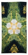 Green Thing Beach Towel