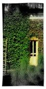 Green Window Beach Towel