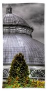 Greenhouse - The Observatory Beach Towel by Mike Savad