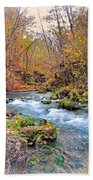Greer Spring In Fall Beach Towel