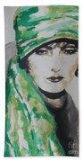 Greta Garbo Beach Towel
