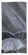 Grey Rain 2 By Jrr Beach Towel