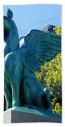 Griffin Natural Color Beach Towel